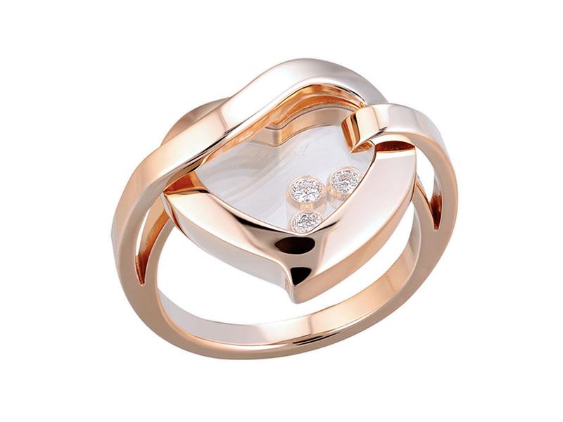 Кольцо Chopard Happy Diamonds Heart Ring