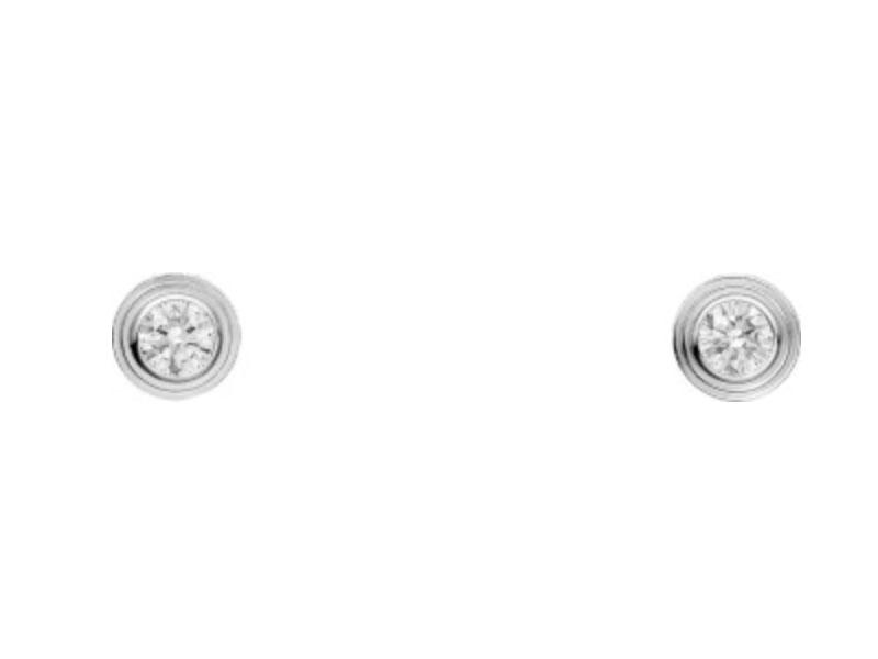 Серьги Cartier Diamants Légers